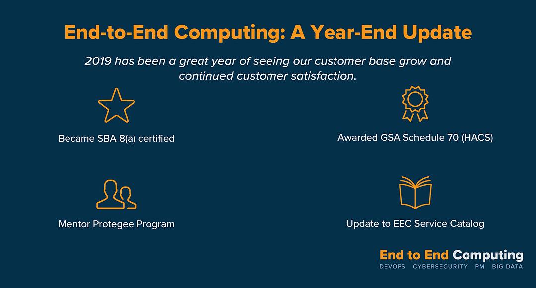 EE Computing Year-End Update